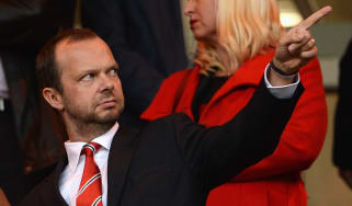 Manchester United Chief Executive Edward Woodward