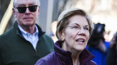 CAMBRIDGE, MA - MARCH 5: Senator Elizabeth Warren addresses the media hours after dropping out of the Democratic presidential race in Cambridge, MA on March 5, 2020. I will not be running for