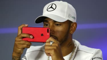Lewis Hamilton F1 Instagram Twitter