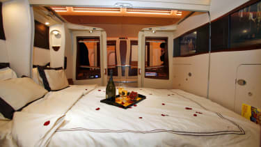 Singapore Airlines A380 first class twin cabin