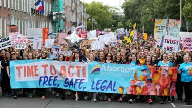 Ireland abortion protest
