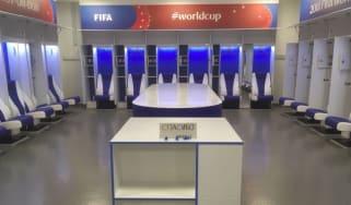 Japan dressing room World Cup