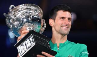 Novak Djokovic beat Daniil Medvedev in the 2021 Australian Open men's singles final