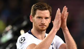 Tottenham Hotspur's Belgian defender Jan Vertonghen