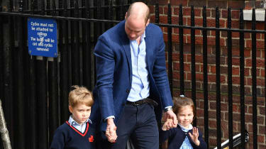 William, George and Charlotte
