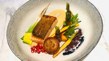 Tasmanian salmon fillet recipe by executive chef Mohammad Taheri at the InterContinental Sydney Double Bay