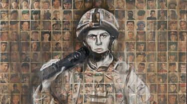 Arabella Dorman's 'Faces of the Fallen'