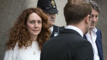 Rebekah Brooks at the Old Bailey