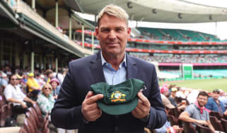Shane Warne's Test cricket cap is being auctioned to raise money for Australia's bushfire appeal