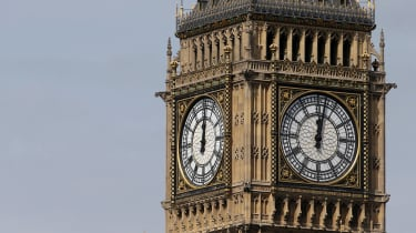 The Elizabeth Tower, where Big Ben hangs