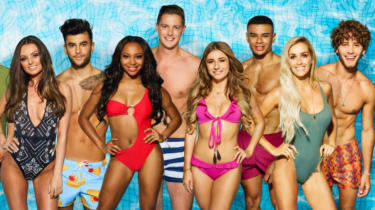 The cast of Love Island