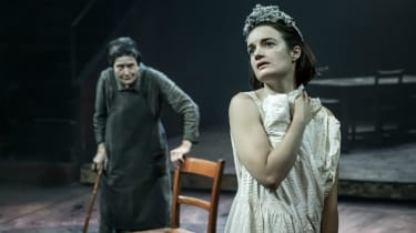 Annie Firbank and Aoife Duffin in Blood Wedding