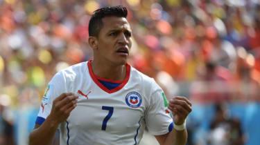 Chilean forward Alexis Sanchez