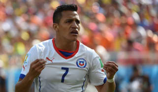 Chilean forward Alexis Sanchez