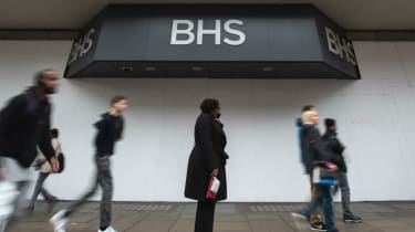 BHS flagship store on Oxford Street