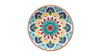 Epicurean Re-usable Rio Medallion 26cm Melamine Dinner Plates