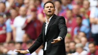 Frank Lampard led Derby County to the Championship play-off final where they lost 2-1 to Aston Villa