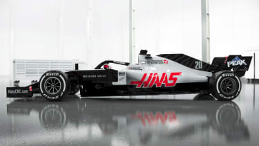 The Haas Formula 1 team have revealed digital renderings of the VF-20 car