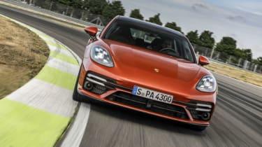 The new Porsche Panamera Turbo S Sport Turismo