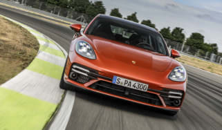 The new Porsche Panamera Turbo S Sport Turismo