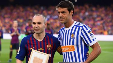 Andres Iniesta Barcelona final match pictures Xabier Prieto