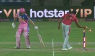 Jos Buttler was 'Mankaded' by Ravichandran Ashwin in the Indian Premier League