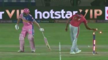 Jos Buttler was 'Mankaded' by Ravichandran Ashwin in the Indian Premier League