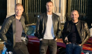Andrew Flintoff and Paddy McGuinness join Chris Harris as presenters of Top Gear