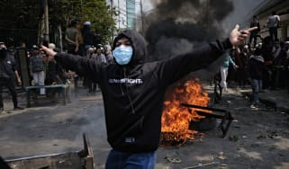 Indonesia riots/protests
