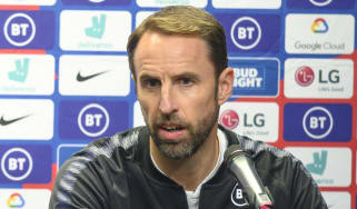 England manager Gareth Southgate speaks to the press ahead of the Euro 2020 qualifiers