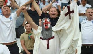 England fans in Marseille