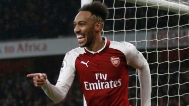 Arsenal signed striker Pierre-Emerick Aubameyang from Borussia Dortmund