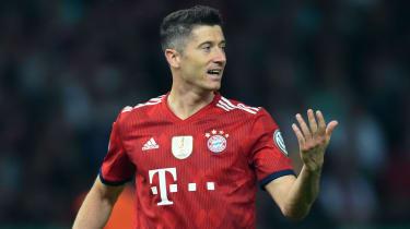 Polish striker Robert Lewandowski is linked with a move away from Bayern Munich