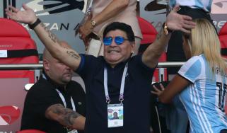 Diego Maradona England Colombia World Cup