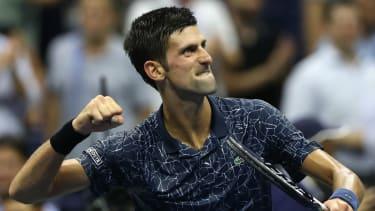 Novak Djokovic 2018 US Open tennis