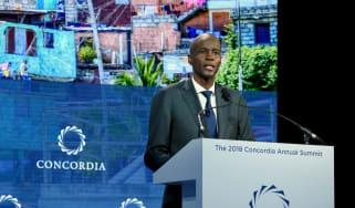Deceased Haitian President Jovenel Moise