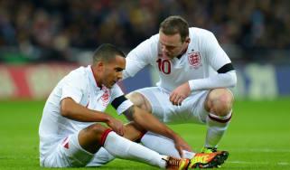 Wayne Rooney Theo Walcott
