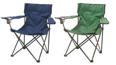 Milestone camping chairs