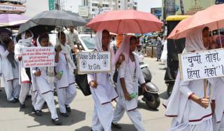 India protest rape