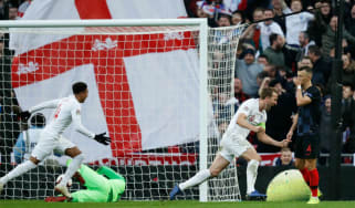 England captain Harry Kane made a goal and scored one against Croatia