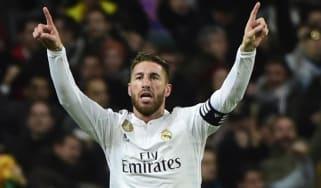 Sergio Ramos of Real Madrid