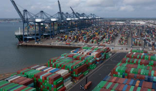Felixstowe: turning away ships from Asia