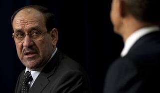 Iraq's former Prime Minister Nouri al-Maliki