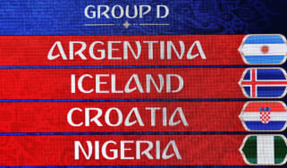 World Cup group D fixtures Argentina Iceland Croatia Nigeria Getty Images