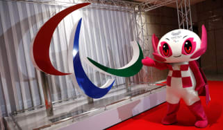 Someity is the official mascot for the Tokyo Paralympic Games