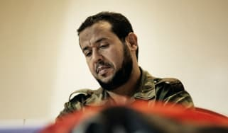 Abdul Hakim Belhadj in 2011 as head of Tripoli's military council following the overthrow of Colonel Gaddafi