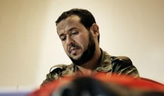 Abdul Hakim Belhadj in 2011 as head of Tripoli's military council following the overthrow of Colonel Gaddafi