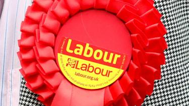 Labour ribbon