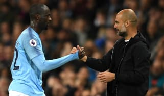 Yaya Toure interview Pep Guardiola Manchester City