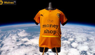 Wolves kit in space